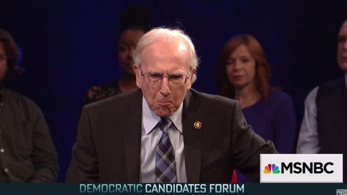 Larry David Bernie Sanders SNL