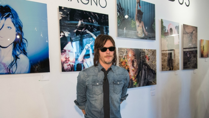 norman reedus photography show walking dead