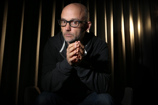 Editorial Use Only. Consent Required for Commercial Use and Book Publications Mandatory Credit: Photo by Chris Pavlich/Newspix/REX Shutterstock (4993552b) Moby Moby photo shoot, Sydney, Australia - 18 Sep 2013 Moby poses during a photo shoot in Sydney, New South Wales to promote the release of his new album