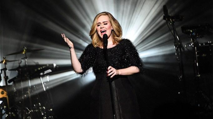 Adele Album Sales