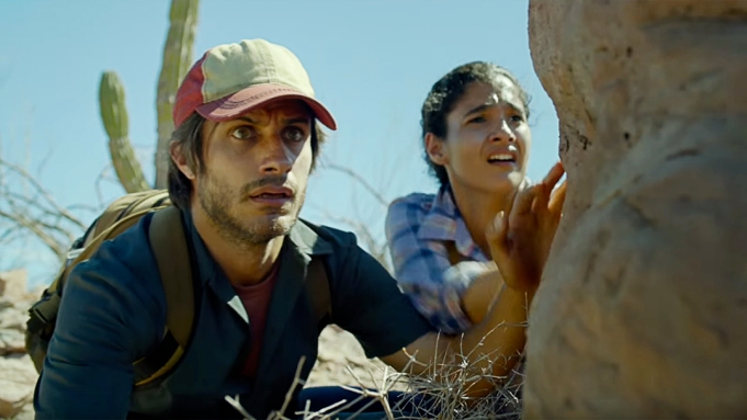 Desierto Gael Garcia Bernal Trailer STX