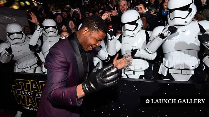 Star Wars Premiere Photos