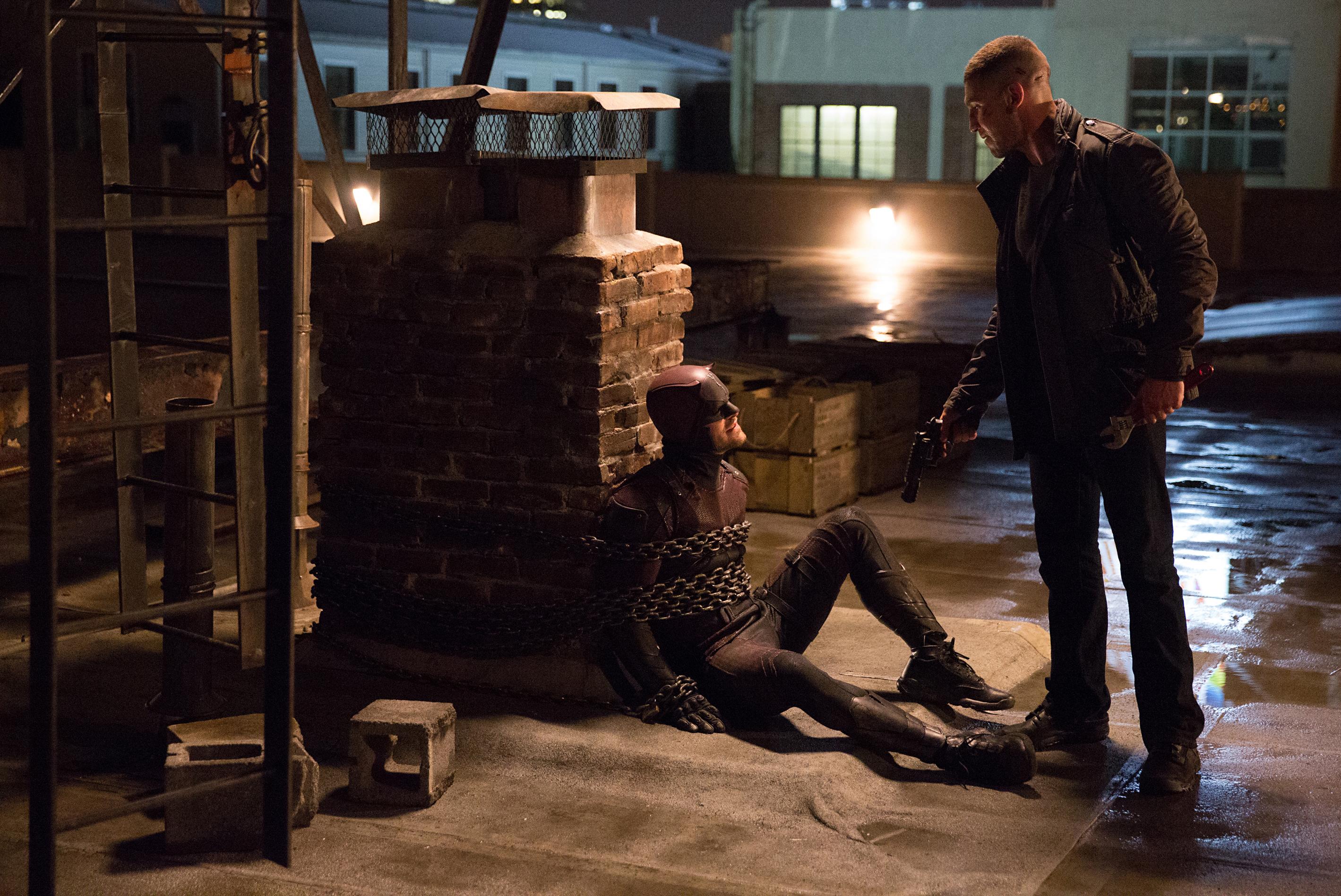 daredevil season 2 Charlie Cox, Jon Bernthal