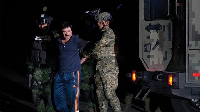 Joaquin El Chapo Guzman Capture
