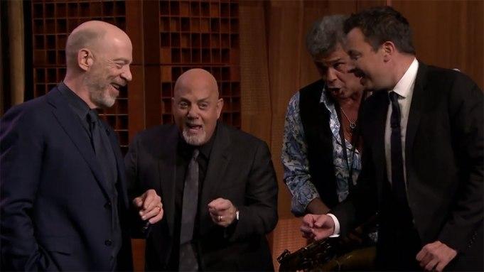 Jimmy Fallon Billy Joel J.K. Simmons