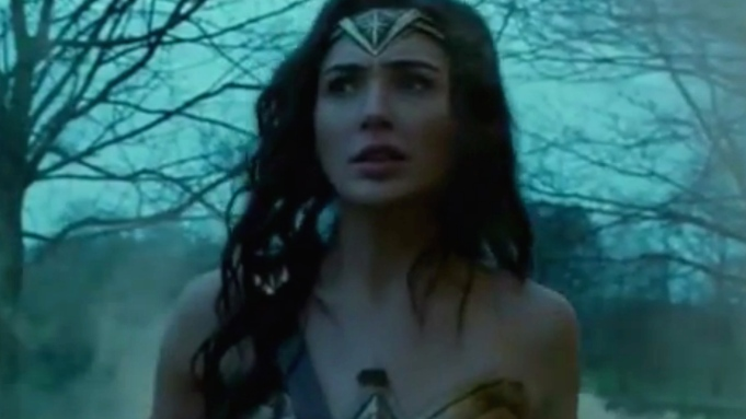 Wonder Woman new footage