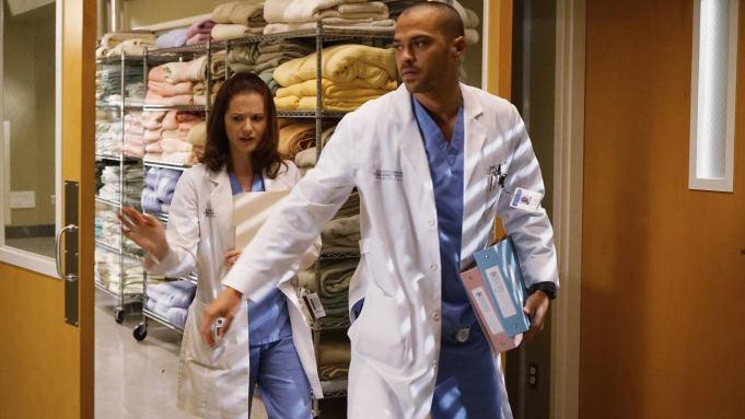Grey's Anatomy April Jackson divorce