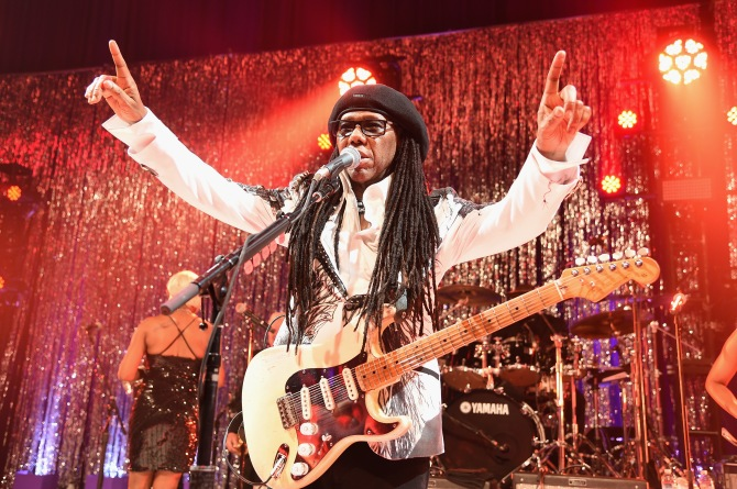 LOS ANGELES, CA - FEBRUARY 22: Musician Nile Rodgers attends the 23rd Annual Elton John AIDS Foundation Academy Awards Viewing Party on February 22, 2015 in Los Angeles, California. (Photo by Dimitrios Kambouris/Getty Images for EJAF) *** Local Caption *** Nile Rodgers