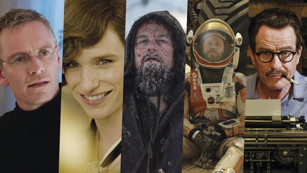 Nominados a Mejor Actor Protagonista en los Oscar 2016.