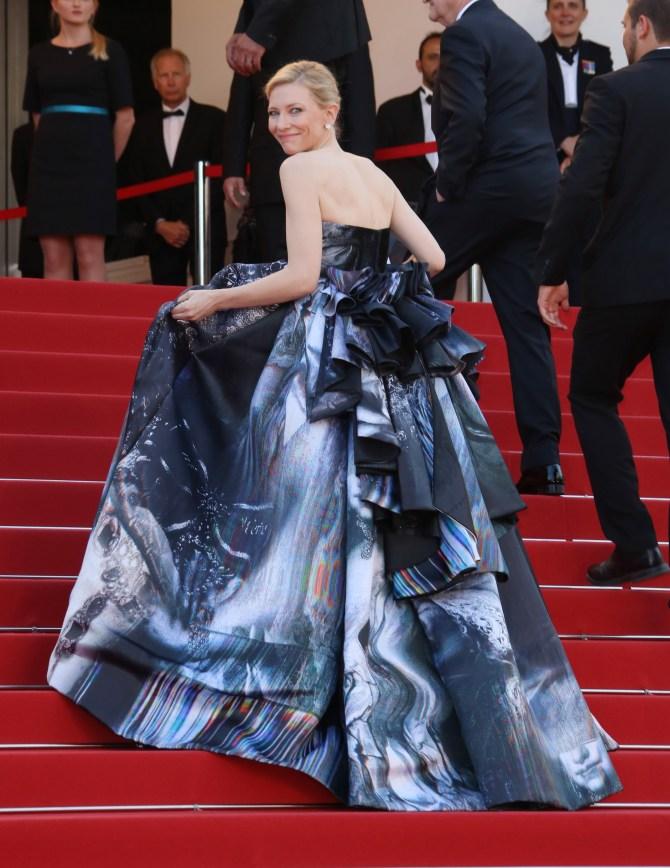Mandatory Credit: Photo by Matt Baron/BEI/BEI/Shutterstock (4775572l) Cate Blanchett 'Carol' film premiere, 68th Cannes Film Festival, France - 17 May 2015