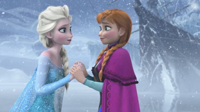 Frozen musical Broadway