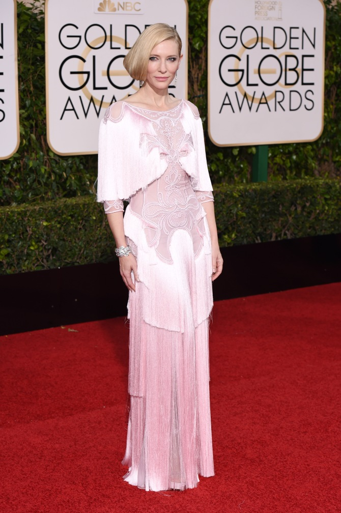 Mandatory Credit: Photo by David Fisher/REX/Shutterstock (5528305dn) Cate Blanchett 73rd Annual Golden Globe Awards, Arrivals, Los Angeles, America - 10 Jan 2016 WEARING GIVENCHY