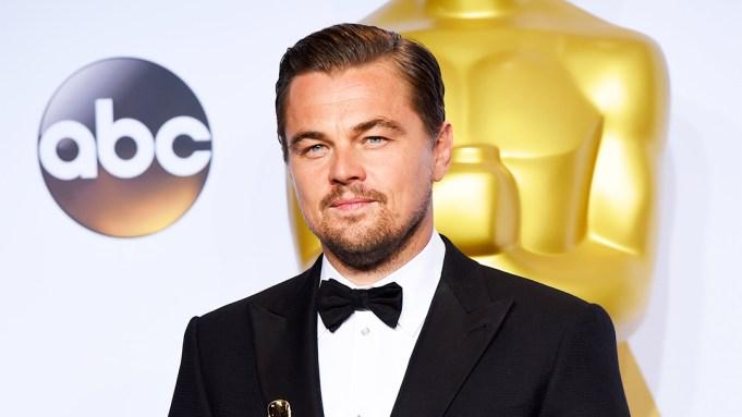 Leonardo DiCaprio Oscar Win 2016