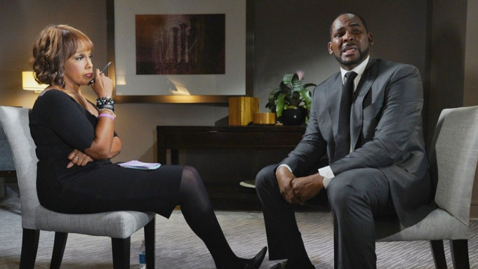 Tv Review The Gayle King Interview With R Kelly Variety