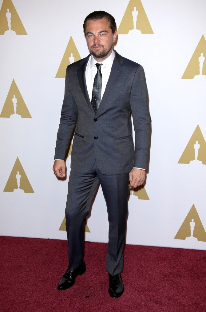 Mandatory Credit: Photo by Jim Smeal/BEI/Shutterstock (5584914ah) Leonardo DiCaprio 88th Academy Awards Nominees Luncheon, Los Angeles, America - 08 Feb 2016