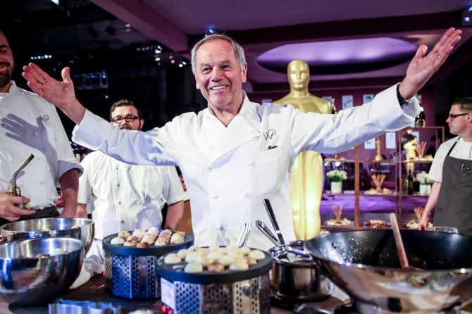 Mandatory Credit: Photo by Chelsea Lauren/REX/Shutterstock (5588445dd) Wolfgang Puck 88th Academy Awards Governors Ball Press Preview, Los Angeles, America - 18 Feb 2016