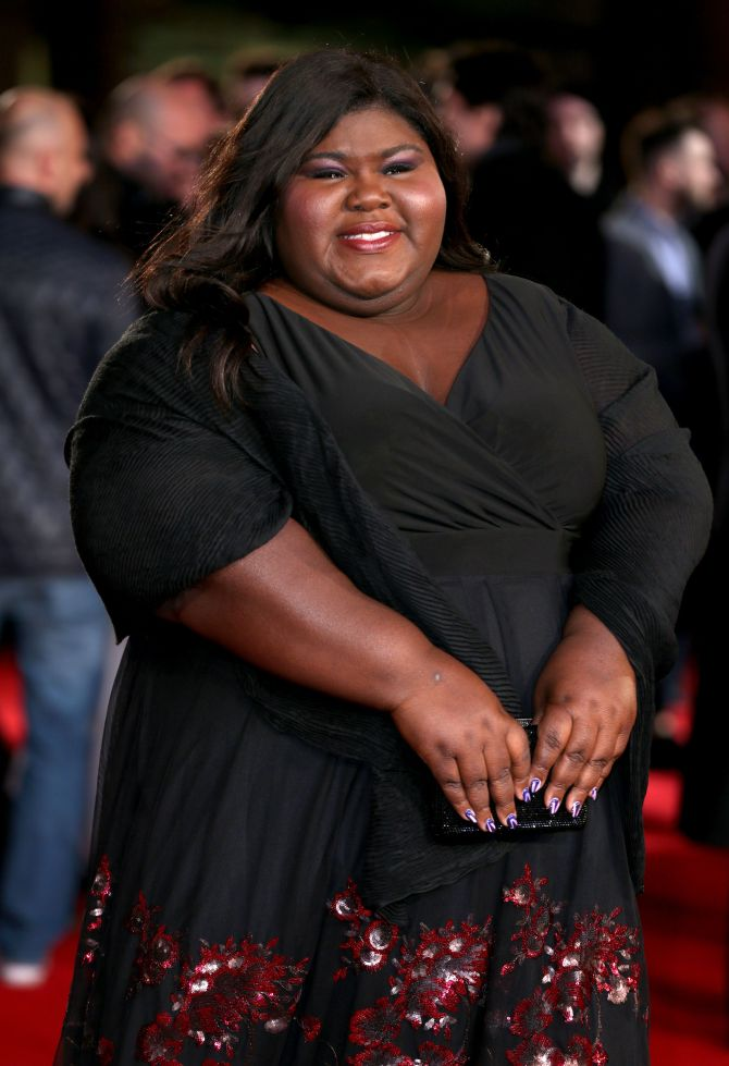 Mandatory Credit: Photo by James Shaw/REX/Shutterstock (5591757ap) Gabourey Sidibe 'Grimsby' world film premiere, London, Britain - 22 Feb 2016