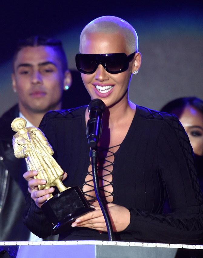 Mandatory Credit: Photo by Buckner/Variety/REX/Shutterstock (5593902by) Amber Rose All Def Movie Awards, Los Angeles, America - 24 Feb 2016 First Annual All Def Movie Awards Celebrating Diversity and Entertainment Broadcast on Fusion Feb 28 @ 7pm