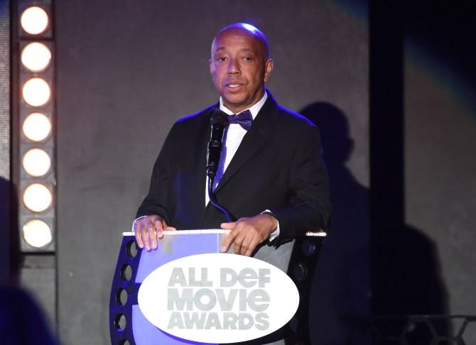 Mandatory Credit: Photo by Buckner/Variety/REX/Shutterstock (5593902fj) Russell Simmons All Def Movie Awards, Los Angeles, America - 24 Feb 2016