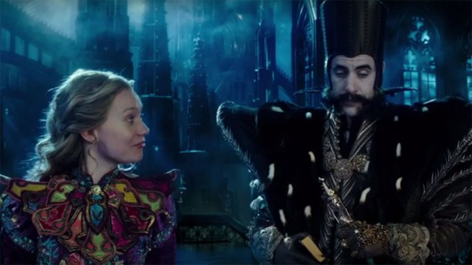 Alice Through the Looking Glass TV