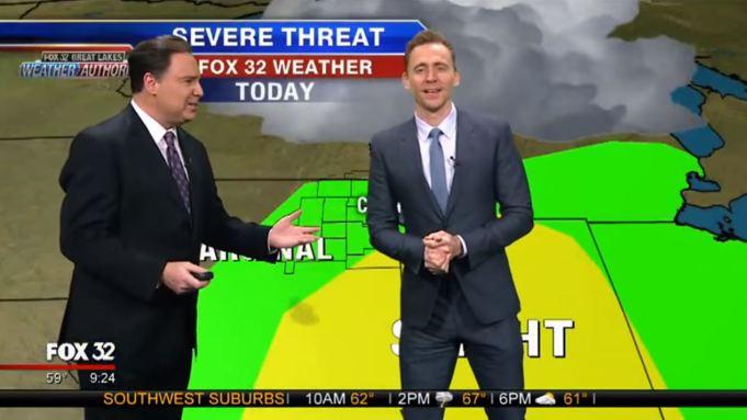 Tom Hiddleston, Weatherman: Loki Blames Storm