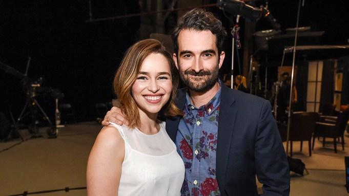 Emilia Clarke Jay Duplass Actors on