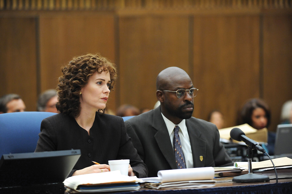 """<p>Season 1, ep. 6 """"Marcia Marcia Marcia,"""" FX:</p> <p>The will-they-or-won't-they couple of the year, Marcia Clark and Chris Darden finally tossed off the formalities in an episode that found them sharing a dance that ranged from hilariously goofy to sweetly touching.</p>"""