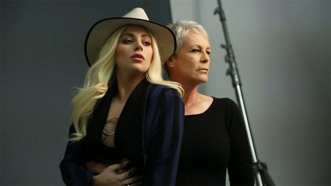 Lady Gaga And Jamie Lee Curtis