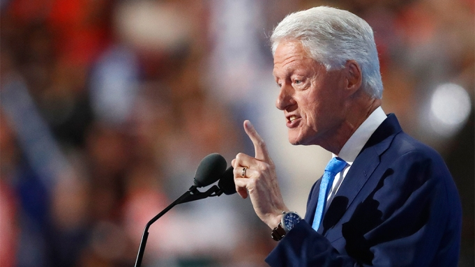 Bill Clinton Democratic National Convention