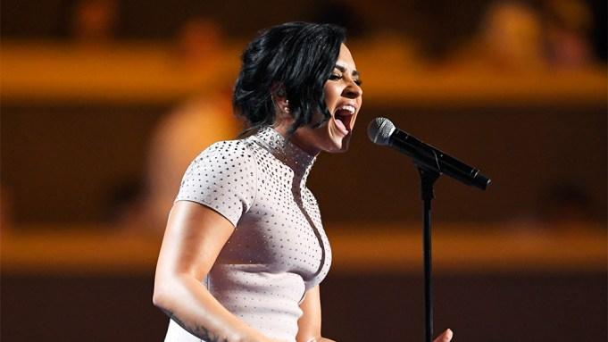 Demi Lovato Democratic National Convention