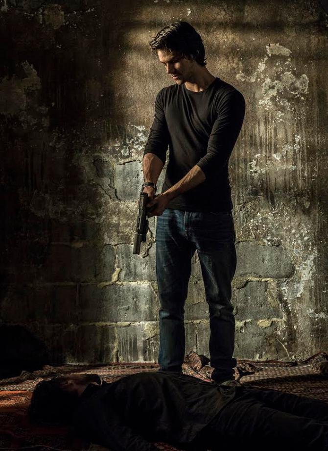 "Dylan O'Brien in ""American Assassin."""