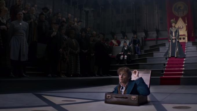 Fantastic Beasts Eddie Redmayne Trailer