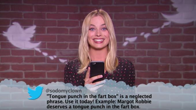 Margot Robbie Mean Tweets Jimmy Kimmel
