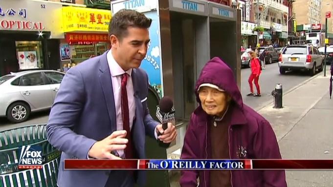 Fox News Chinatown segment