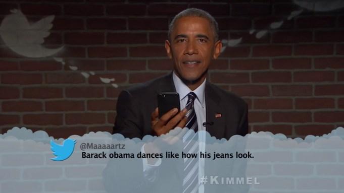 President Barack Obama Mean Tweets