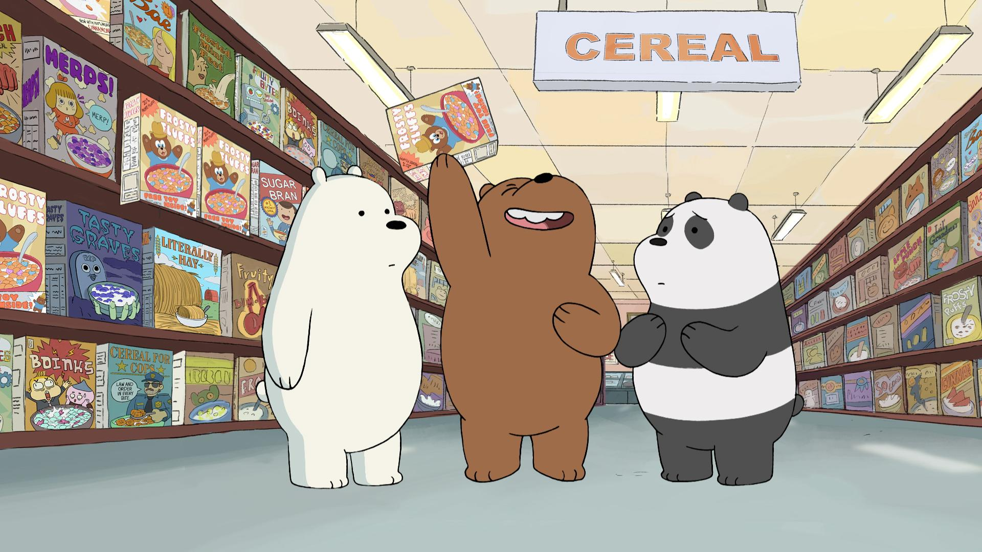 Fans of 'We Bare Bears' in the house?