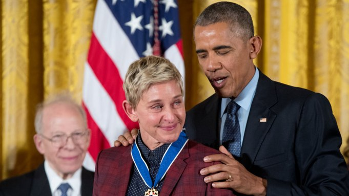 Ellen DeGeneres Presidential Medal of Freedom