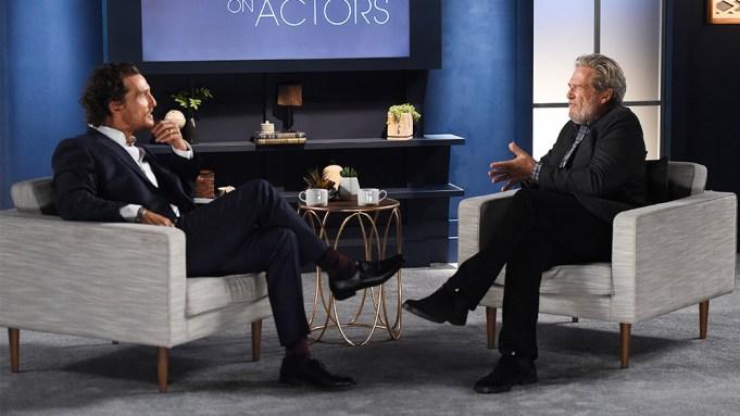Matthew McConaughey Jeff Bridges Actors on