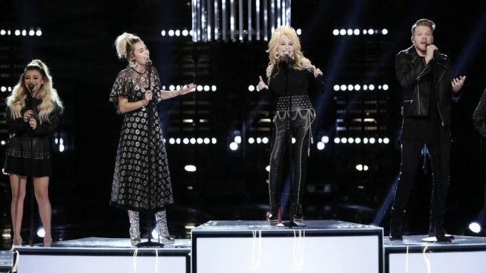Miley Cyrus Dolly Parton Pentatonix Jolene