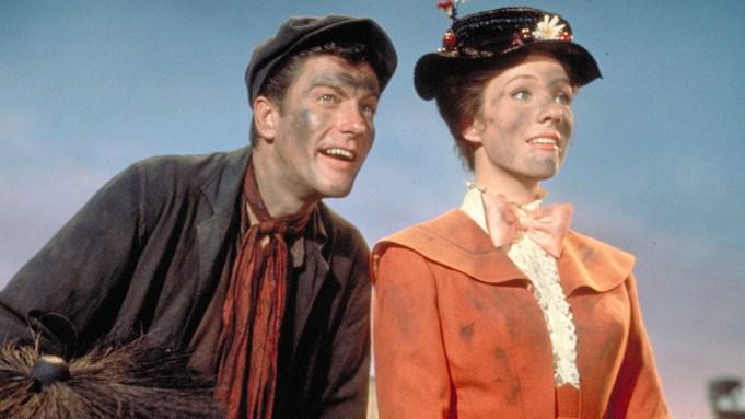 Mary Poppins Dick Van Dyke Julie