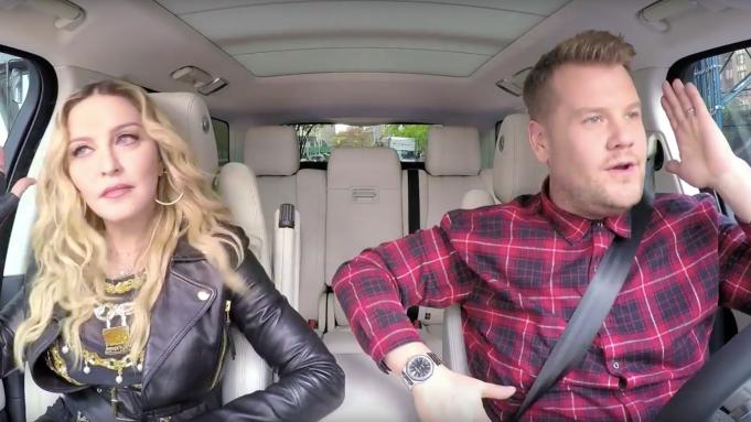 Madonna Joins James Corden for 'Carpool