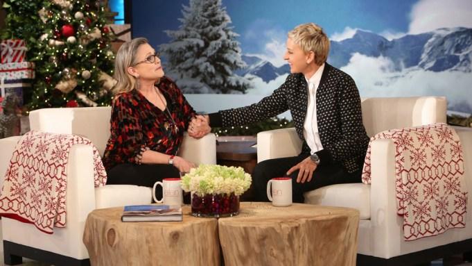Carrie Fisher Ellen DeGeneres