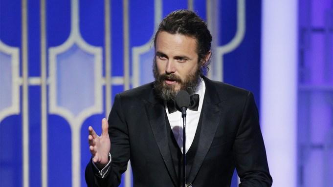 Casey Affleck Golden Globes Acceptance Speech