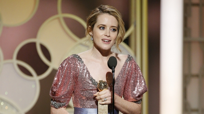 Claire Foy Golden Globes win