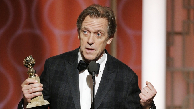 Hugh Laurie Takes Down Trump at