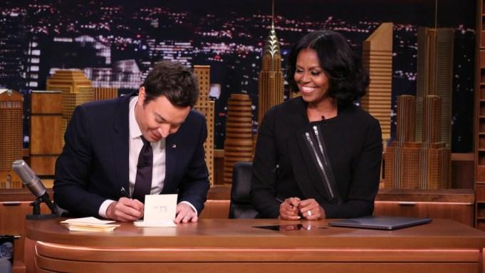 Michelle Obama Tonight Show