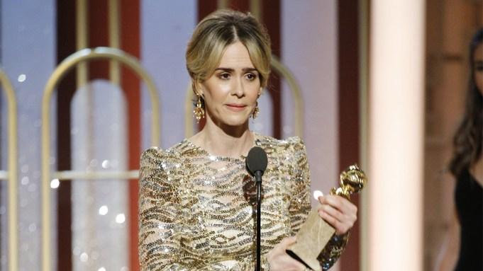 Sarah Paulson Golden Globes Win