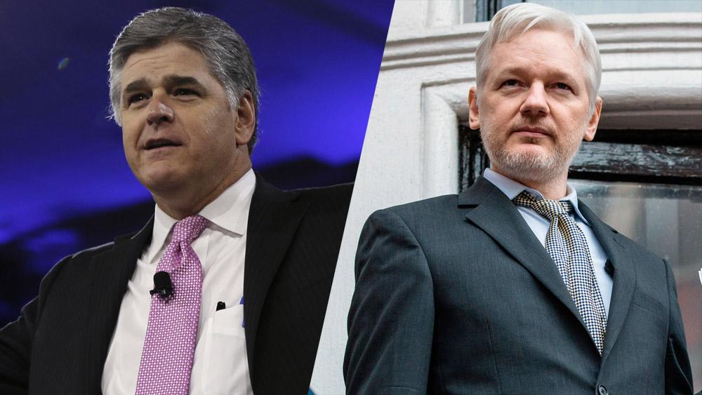 Fox News? Sean Hannity Lands Interview With WikiLeaks Founder Julian Assange