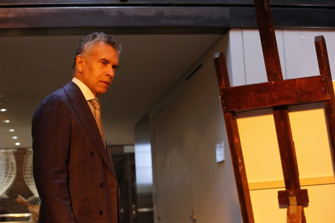 """THE BLACKLIST -- """"The Architect (#107)"""" Episode 414 -- Pictured: Brian Stokes Mitchell as David Levine -- (Photo by: Will Hart/NBC)"""