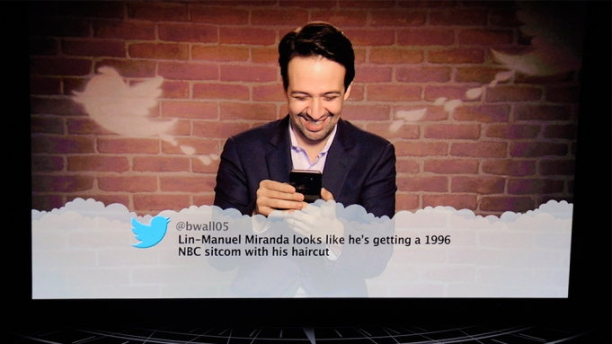 Celebrities Read Mean Tweets Oscars